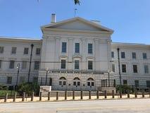 J Bratton Davis United States Bankruptcy Courthouse em Laurel St em Colômbia, SC fotos de stock