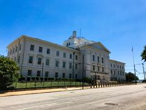 J Bratton Davis United States Bankruptcy Courthouse på Laurel St i Columbia, SC fotografering för bildbyråer