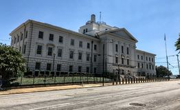 J Bratton Davis United States Bankruptcy Courthouse su Laurel St in Colombia, Sc Fotografie Stock