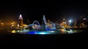 J C Nichols fontanny nocy Pamiątkowy upływ zbiory wideo