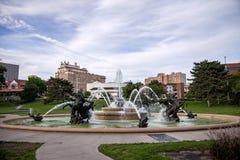 J C Nichols Memorial Fountain Imagenes de archivo