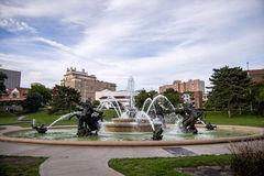 J.C. Nichols Memorial Fountain Stock Images