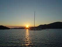 J Class. Yacht, Croatia Stock Photo