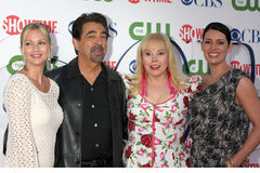 A. J. Cook,Joe Mantegna, Kirsten Vangsness, Stock Images