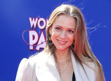 A.J. Cook royalty free stock image