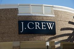 J. Crew Store at the Tanger Outlet Mall in Southaven, Mississippi Royalty Free Stock Image