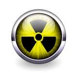 jądrowa energetyczna ikona Zdjęcia Royalty Free