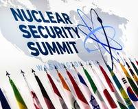 Jądrowy ochrona szczyt w Waszyngton, 2016 Zdjęcie Royalty Free