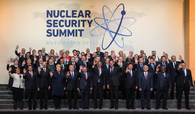 Jądrowy ochrona szczyt w Waszyngton, 2016 Zdjęcia Stock