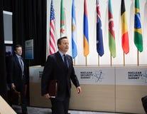 Jądrowy ochrona szczyt w Waszyngton, 2016 Zdjęcia Royalty Free