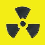 jądrowy znak Obraz Stock