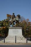 J.E.B. 斯图尔特纪念品雕象 免版税库存照片