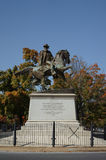 J.E.B. Stuart αναμνηστικό άγαλμα Στοκ φωτογραφίες με δικαίωμα ελεύθερης χρήσης