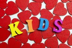 J'enfants d'amour Photos stock
