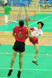 J. H. Zhou in action Stock Image