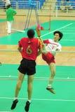 J.H. Zhou dans l'action Image stock