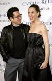 J J Abrams i Jennifer Garner Zdjęcie Royalty Free