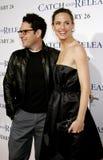 J J Abrams i Jennifer Garner Zdjęcia Royalty Free