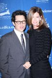 J J Abrams,Katie McGrath Royalty Free Stock Photos