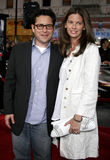 J.J. Abrams and Katie McGrath Royalty Free Stock Images