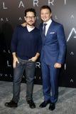 J J Abrams och Jeremy Renner Fotografering för Bildbyråer