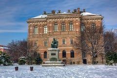 J.J.Strossmayer square in Zagreb Stock Photo