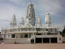 J k Temple, Kanpur Inde images stock