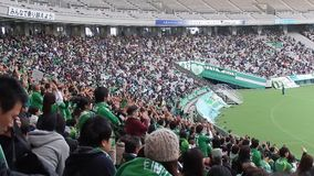 J-League football match in Chofu Stock Photography