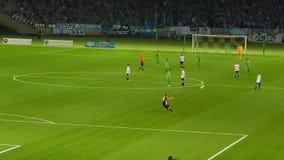 J-League football match in Chofu Stock Photo