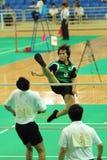 J. Li dans l'action Photographie stock