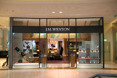 J.M. Weston Retail Outlet Royalty Free Stock Images