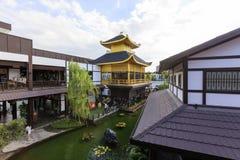 J-PARK är den japanska gallerian för traditionell stil Royaltyfri Fotografi