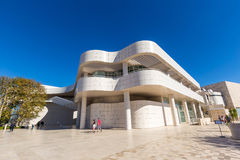 The J. Paul Getty Museum in Los Angeles Royalty Free Stock Photos