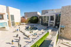 The J. Paul Getty Museum in Los Angeles Stock Photography