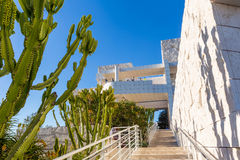 The J. Paul Getty Museum in Los Angeles Royalty Free Stock Images