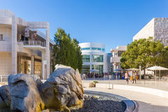 The J. Paul Getty Museum in Los Angeles Royalty Free Stock Photo