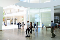 J. Paul Getty Museum Royalty Free Stock Photography