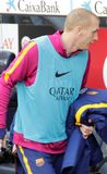 Jérémy Mathieu   of FC Barcelona Royalty Free Stock Photo