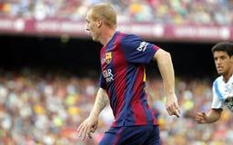 Jérémy Mathieu FC Barcelone v La Corogne Liga - Espagne Royalty Free Stock Image