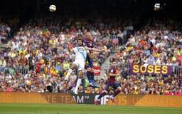 Jérémy Mathieu FC Barcelone v La Corogne Liga - Espagne Royalty Free Stock Photos