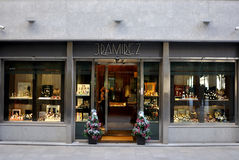 J. Ramirez Store in Spain Royalty Free Stock Photography