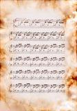 J.S.Bach, un prélude numéro 1 Photos stock