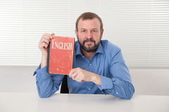 Język angielski nauczanie Zdjęcia Stock
