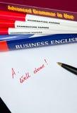 język angielski uczenie Obrazy Royalty Free