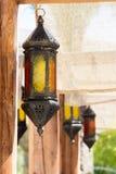 Język arabski stylowe lampy Zdjęcie Royalty Free