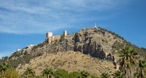 Jaén slott Royaltyfri Bild