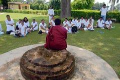 Jaïnisme en Inde images stock