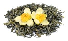 jaśminowa herbata zielona obrazy royalty free
