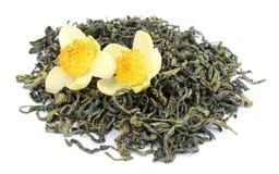 jaśminowa herbata zielona obrazy stock