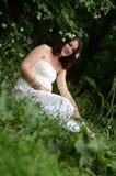 jaśminowy kobieta w ciąży Zdjęcia Royalty Free